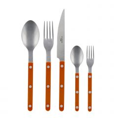 5-teiliges Set - Bistrot vintage solid - Orange